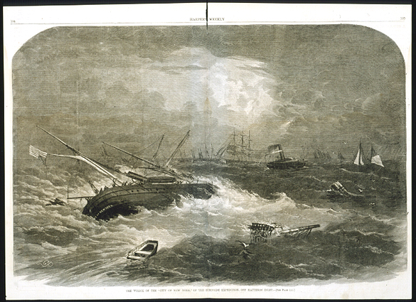 """Wreck of the """"City of New York"""""""