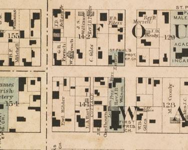 North Carolina Maps Historic Overlay Maps - Map of no carolina