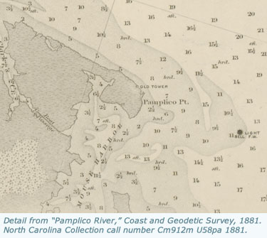 North Carolina Maps Coast And Geodetic Survey Maps - North-carolina-map-of-us