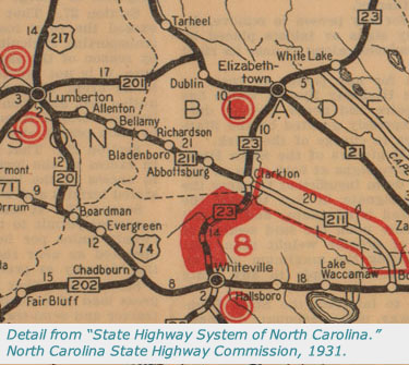 North Carolina Maps State Highway Maps