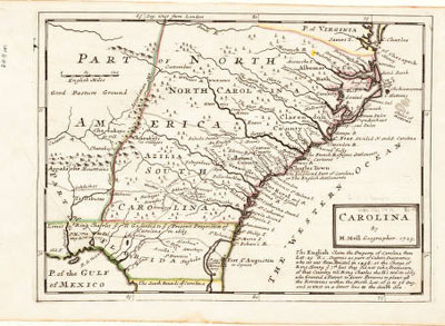 North Carolina Maps An Introduction To North Carolina Maps - Map of northern north carolina