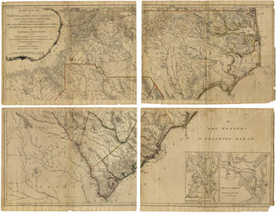 North Carolina Maps An Introduction To North Carolina Maps - North and south carolina map