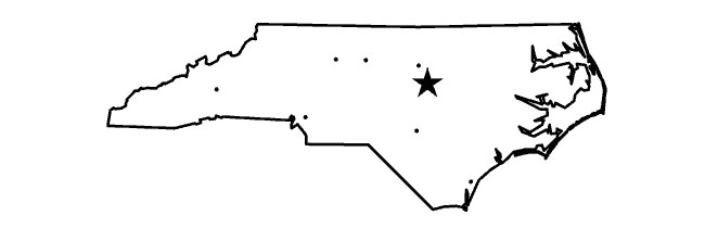 north carolina map jpg
